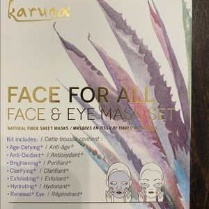 BRAND NEW Karuna Face For All Mask Set